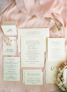 #paper-goods, #stationery  Photography: Jen Fariello Photography - jenfariello.com  Read More: http://www.stylemepretty.com/2013/08/26/charlottesville-wedding-from-jen-fariello-photography-4/