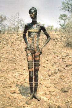 Mursi Man, Ethiopia original photo