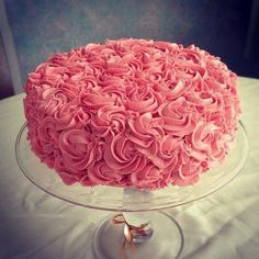 This would be a beautiful birthday cake