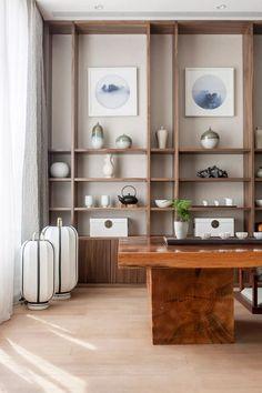 Spa Interior, Office Interior Design, Apartment Interior, Home Office Decor, Office Interiors, Interior Design Living Room, Home Decor, Office Designs, Japanese Interior