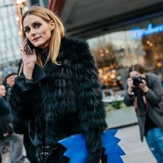 OP #oliviapalermo #lfw #fall2016 Picture credit:  Soren Jepsen / The Locals