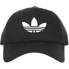 Trefoil Cap by Adidas Originals (€14) ❤ liked on Polyvore featuring accessories, hats, topshop hats, cap hats, cotton cap and cotton hat