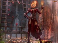 Wallpaper of the Week: Chandra : Daily MTG : Magic: The Gathering