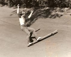 Tom Sims, the god father of longboarding