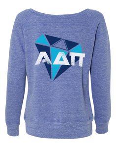 Alpha Delta Pi Diamond Pullover |~| Adam Block Designs