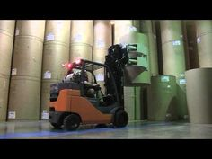 Toyota #Forklift: Large Capacity 8-Series Cushion