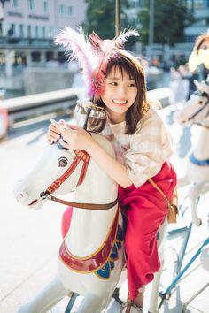 Saito Asuka, Bicycle Girl, Sexy Asian Girls, Asian Woman, Asian Beauty, Cute Girls, Idol, Princess Zelda, Japanese