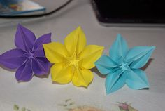 This kusudama is based on a beautiful flower model folded from a being inspired origami carambola flowers mightylinksfo