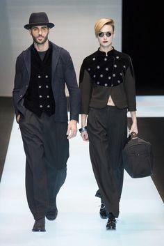 Giorgio Armani | Fall 2016 Menswear Collection | Vogue Runway
