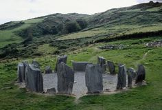 Dromberg Stone Circle, County Cork, Ireland: Also known as the Druid's Altar, Dromberg is the most visited megalithic site in Ireland. Excavations in the 1950s revealed a wealth of material at the site including prehistoric huts, cooking areas and the cremated remains of a young adolescent, which date the circle to between 945 and 830 BC. (Photo Credit: Getty Images)