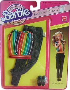 *1984 My first fashions sportin'occasion Barbie outfit 2 #4816