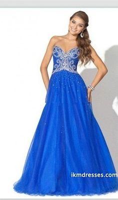 http://www.ikmdresses.com/2014-Fabulous-Strapless-A-Line-Dress-Beaded-Floor-Length-Organza-Prom-Dresses-p84203
