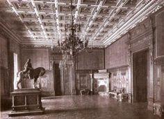 Budapest, Buda Castle, Palace, Artwork, Buildings, Painting, Retro, Room, Hungary