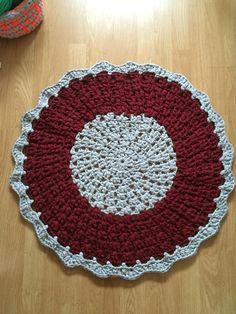 Alfombra de trapillo/Crochet XXL