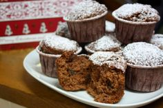 fruit mince muffins