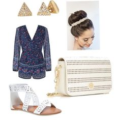 Untitled #4 by fabfive1999 on Polyvore featuring polyvore, fashion, style, Ally Fashion, Wet Seal, Tory Burch and Stella & Dot