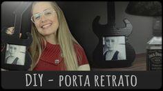 Porta Retrato de Guitarra =DiY