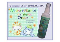 Neutraliza el mal olor, no lo enmascara gracias a su molécula de zinc.  Deja un agradable aroma  Tamaño ideal para la pañalera  Amigable con el medio ambiente  ideal para el depósito de pañales sucios y para el área de cambio de pañal