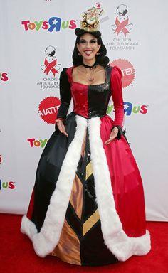 Teri Hatcher déguisée en Reine de Cœur en 2007