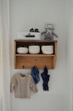 baby's room via La Maison Douce Kids Bedroom, Bedroom Decor, Kids Rooms, Girl Room, Baby Room, Baby Nest, Baby Storage, Storage Ideas, Nursery Inspiration