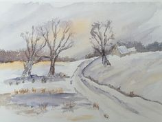Watercolour Fields - By Bazza