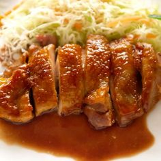 Yakitori is a Japanese skewered chicken, cooked on griller with either sweet soy sauce or just salt. You don't marinate chicken! Japanese Chicken, Japanese Curry, Japanese Teriyaki, Japanese Dishes, Japanese Food, Japanese Recipes, Japanese Meals, Japanese Ramen, Chinese Recipes