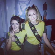 Maisie Williams and Sophie Turner rocked matching Halloween costumes