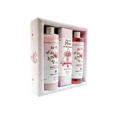 Gift pack Dee (Roses)r: Shower Gel 250 ml, Hair Shampoo 250 ml, Hand Made Soap 150g. Best Gift Pack for her, girls, ladies, fashion lovers..