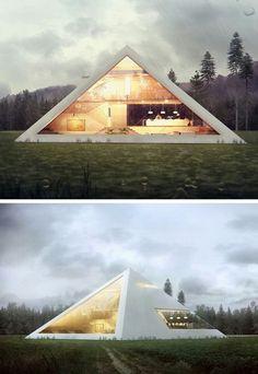 三角空間 生活
