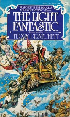 The Light Fantastic, Terry Pratchett's Discworld :)
