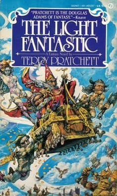 The Light Fantastic, Terry Pratchett's Discworld :)