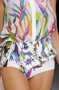 Just Cavalli Spring 2014 - Details