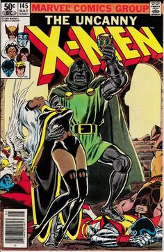 Miss Locke explains she needs the X-Men to rescue Arcade from Doctor Doom. Storm's attempt to distract Dr. Doom while the others rescue Arcade fails, and Storm finds herself transformed to chrome! Find out in Uncanny X-Men Marvel Comics, Marvel Comic Books, Comic Book Characters, Comic Book Heroes, Comic Character, Comic Books Art, Comic Art, Logo Marvel, Comics Spiderman