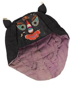 Child's tiger hat with wind flap: Chinese, early century Folk Costume, Costumes, Chinese Babies, Chinese Calendar, Chinese Clothing, Tiger, Chinese Art, Baby Hats, Traditional Outfits