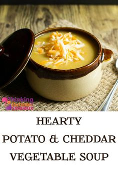 Potato Cheddar Vegetable Soup Recipe