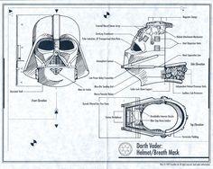 Darth Vader helmet revealed