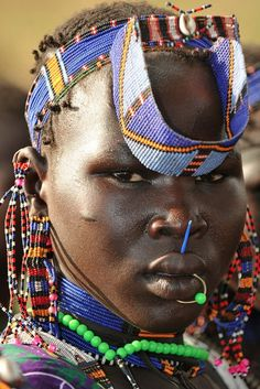 jie woman, southern sudan   - Explore the World with Travel Nerd Nici, one Country at a Time. http://TravelNerdNici.com