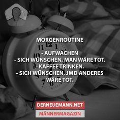 Morgenroutine #derneuemann #humor #lustig #spaß