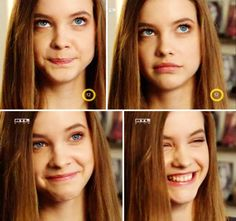 ~Ridiculously cute out-takes from a Hungarian T.V. Special about recently discovered (2006) young Hungarian Super Model, Barbara Palvin