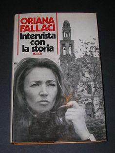 Oriana Fallaci, Intervista con la Storia, Rizzoli 1974