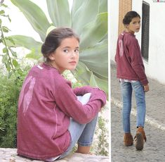 Visteles Zara Kids, Love, Rain Jacket, Windbreaker, Girl Fashion, Teen, Marsala, Children, Thank You So Much