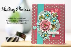 Stampin' Up! Falling Flowers - Blog Hop with the Pootlers and The Artful Stampers teams