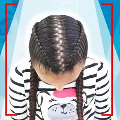 50 Easy Hairstyles For Long Hairstyles For Girls Long Hair Designs, Braided Hairstyles, Cool Hairstyles, Curly Hair Styles, Natural Hair Styles, Beautiful Braids, Hair Dos, Dyed Hair, Hair Inspiration