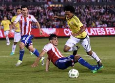 Paraguay 0 - 1 Colombia // Eliminatorias Rusia 2018 // 06.10.2016