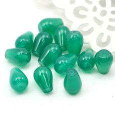Agat brazylijski kropla szmaragdowa 11x8mm Beads, Stone, Beading, Rock, Bead, Stones, Pearls, Seed Beads, Batu