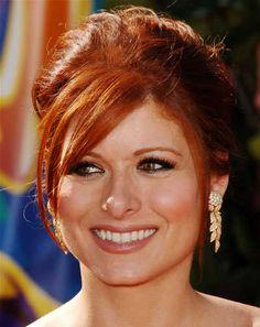 Debra Messing Red Hair