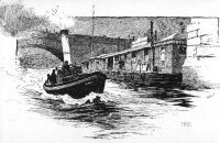 "A drawing of Supervision launch ""Alert"" in 1891 taken from Strand Magazine in the article ""A night with the Thames Police""../files/pictures/alert1891.jpg"
