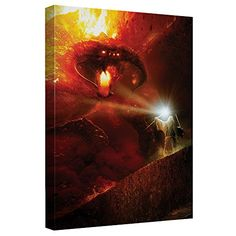 Lord Of The Rings Balrog Canvas Wall Art With Back Board -- Find out more about the great product at the image link.Note:It is affiliate link to Amazon.