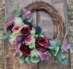 Spring Front Door Wreaths, Autumn Wreaths, Easter Wreaths, Vintage Farmhouse Decor, Pumpkin Wreath, Nursery Signs, Beautiful Gifts, Summer Wreath, Grapevine Wreath