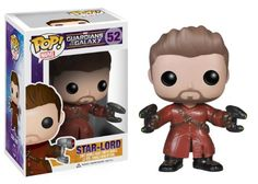 Funko Pop. Guardians of the Galaxy. Star Lord (Unmasked). Amazon.com